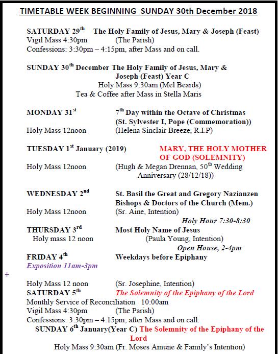 Latest Newsletters   Catholic Church, Llandudno