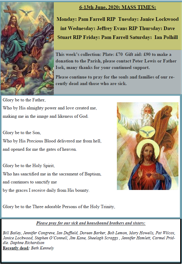 Trinity Sunday Mass News